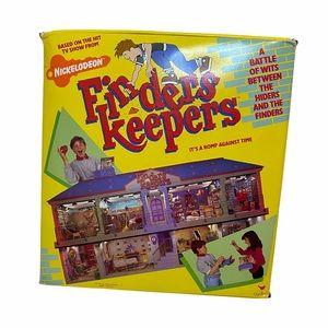 Vintage 1988 FINDERS KEEPERS Nickelodeon TV Game